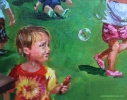 Details: chromosome in bubble