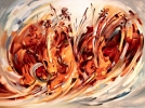 Dance of Violins 2012 Oil on Canvas 36x48